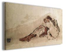 Quadro moderno Egon Schiele vol XIX stampa su tela canvas pittori famosi