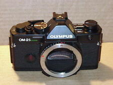 OLYMPUS OM-2S SPOT PROGRAM BLACK CAMERA BODY