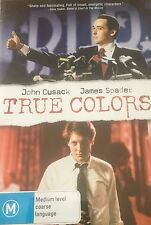 True Colors James Spader John Cusack Imogen Stubbs Region 4 DVD VGC