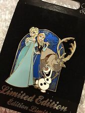 Disney Pin UK Exclusive Limited Edition SOLD OUT Frozen Anna Elsa Olaf Sven