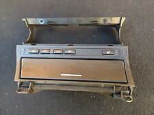 BMW E46 OEM Center Console Dash Storage Carrier Tray Trim Non-Navi WITH SWITCHES