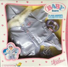 Zapf Baby Born Doll's De Luxe Outfit Snow Suit New