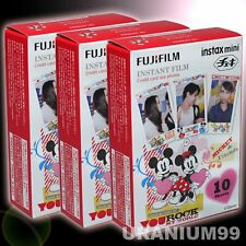 Instax Mini Mickey Mouse 30 Film Fuji Fujifilm – 8 25 50s 70 90 Camera SP-1 SP-2