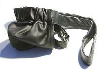 N2N Mens M Black Slingshot jock c/ring stretchy spandex extreme pouch wvwvwv1018