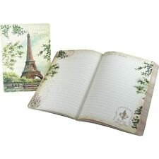 Punch Studio Everyday Travel Soft Cover Journals – Eiffel Tower Painting 45508