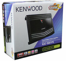 Kenwood KAC-5001PS 1000 w Class D 1-Ch Monoblock Amplifier