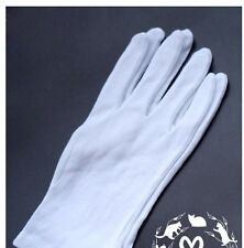 BJD doll maintenance anti-sweat and stain white cotton gloves conservation