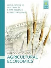 Introduction to Agricultural Economics by John B., Jr. Penson, Oral T., Jr. Capp