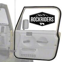1976-1995 Jeep Wrangler YJ & CJ7 CJ8 Full Door Weatherstrip Seal Passenger Side