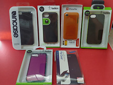 NEW ~ 6 Assorted iPhone Cases, Belkin, Incase, Samsung, Extreme Mac  Free S/H