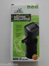 Fish Tank Water Dust Filter & Air maker - Powerful - Submersible Aquarium Filter