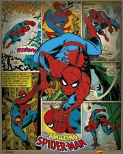 SPIDER-MAN ~ 16x20 COMIC PANEL ART POSTER ~ NEW!
