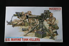 YJ020 DRAGON 1/35 maquette figurine 3012 US Marine Tank Killers