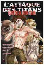 manga L'Attaque des Titans - Before The fall Tome 4 Seinen Hajime Isayama Pika