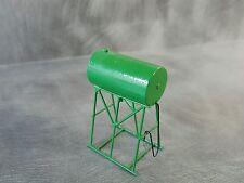 1/64 Custom scratch Farm green  fuel Barrel on stand