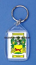 SIMMONS (JEWISH) COAT OF ARMS KEY RING