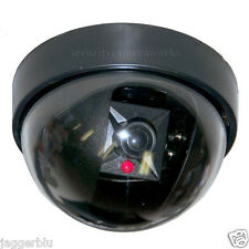 BRAND NEW SECURITY FAKE SECURITY CAMERA L@@K FLASHING LED LIGHT CCTV SURVEILANCE