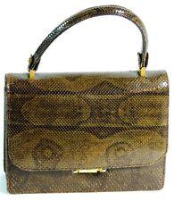 Bolso en piel de serpiente / Snake skin handbag. VINTAGE - ANCIENT (MOD2)