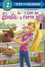 I Can Be a Farm Vet (Barbie) (Step into Reading)  (ExLib)