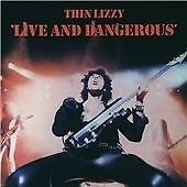 CD ALBUM  -  THIN LIZZY  -  LIVE AND DANGEROUS   (LIVE RECORDING)