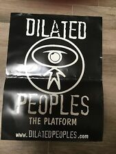 DIALATED PEOPLES THE PLATFORM PROMO POSTER 18 x 24