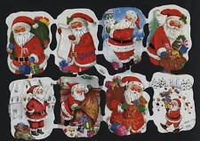 # GLANZBILDER # Krüger Weihnachtsmänner 6, weisser Hintergrund, seltener Bogen
