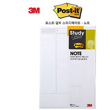 4 Pack x 3M POST-IT Study Mate MEMORIZING Note Cornell 660 Super Sticky Notes
