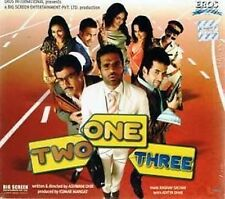 ONE TWO THREE - NEW BOLLYWOOD SOUNDTRACK CD - FREE UK POST