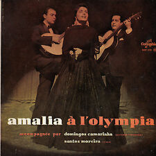 45TRS VINYL 7'' / FRENCH EP AMALIA RODRIGUES A L'OLYMPIA