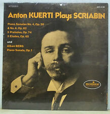 Anton Kuerti SCRIABIN/BERG - Monitor MCS 2134 SEALED