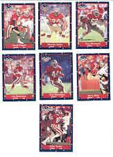 1991 SS San Francisco 49ers Set JOE MONTANA JERRY RICE JOHN TAYLOR TOM RATHMAN