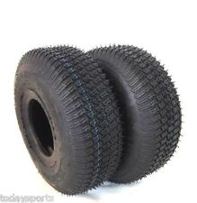 TWO 4.10/3.50-4 410/350-4 Turf Lawn Mower Go Kart TIRES 4 PLY RATED 4.10 4