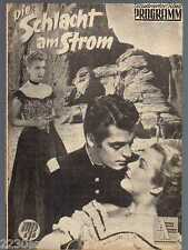 DIE SCHLACHT AM STROM / IFP 338 Wien / Guy Madison, Rory Calhoun, Art Baker