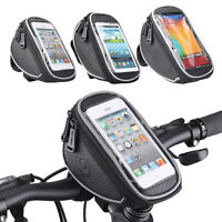 ROSWHEEL CYCLING BIKE BICYCLE FRAME IPHONE HOLDER PANNIER MOBILE PHONE BAG POUCH