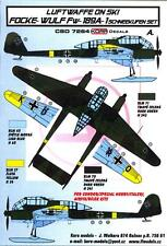KORA Models LUFTWAFFE ON SKIS FOCKE WULF Fw-189A-1 Resin Set with Decals