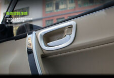 New Chrome Interior Inside Door Handle Frame Cover Trim for Toyota Corolla 2014