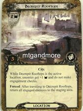 Lord of the Rings LCG  - 1x Decrepit Rooftops  #079 - Trouble in Tharbad