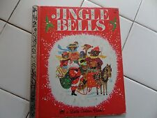 Jingle Bells, A Little Golden Book,1964(Children's Hardcover)