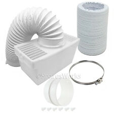 1M Hose Condenser Box with Extra Long Pipe & Adapter for BUSH Tumble Dryer