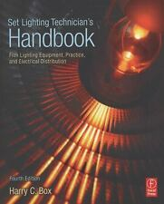Set Lighting Technician's Handbook by Harry C. Box NEW Paperback (English)