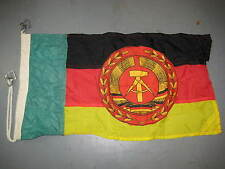 EAST GERMAN BORDER GUARD FLAG FOR BOATS NVA DDR GRENZTRUPPEN VOLKSMARINE