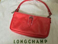 Authentic LONGCHAMP Pink Leather Handbag