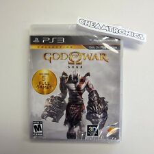 NEW - God of War Saga - Factory Sealed (Sony PlayStation 3, 2012)