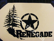Jeep Renegade Vinyl Sticker Decal
