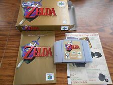 The Legend of Zelda Ocarina of Time Complete Boxed Nintendo 64 N64 Game