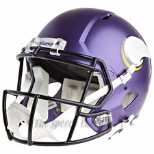 MINNESOTA VIKINGS RIDDELL SPEED NFL FULL SIZE REPLICA FOOTBALL HELMET