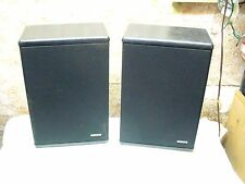 ADVENT GRADUATE MADE IN USA VINTAGE STEREO BOOKSHELF SPEAKERS jbl altec