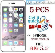 "5X HD clear screen protector iphone 6PLUS 5.5"" 6 Plus 6S+ film guard Protecteur"