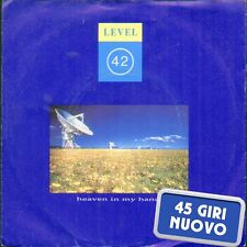 "LEVEL 42 "" HEAVEN IN MY HANDS + GRESHAM BLUES "" 45 GIRI NUOVO 1988 POLYDOR"