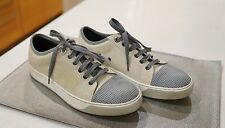Lanvin Cap-toe trainers size 6UK/7US off-white with gray cap toe